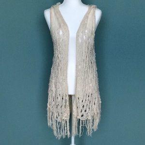 Free People crocheted vest